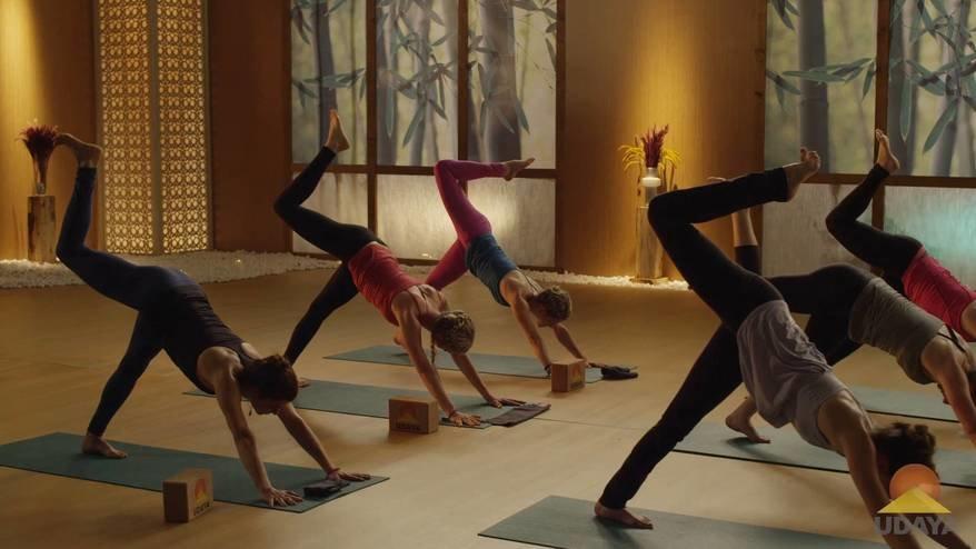 Backbend inspired Vinyasa flow | Ekhart Yoga