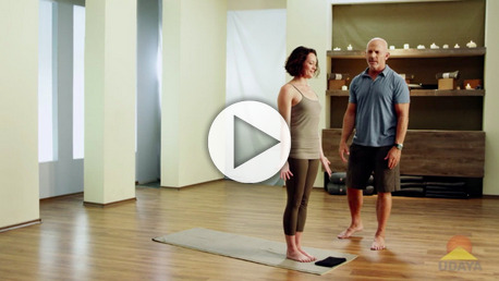 Modified Sun Salutation with Rudy Mettia