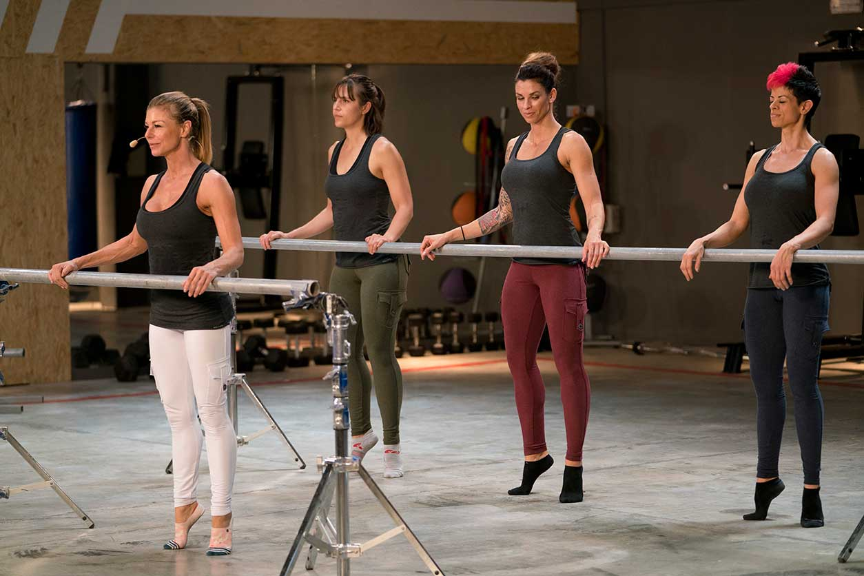 Sharon Polsky teaches Barre