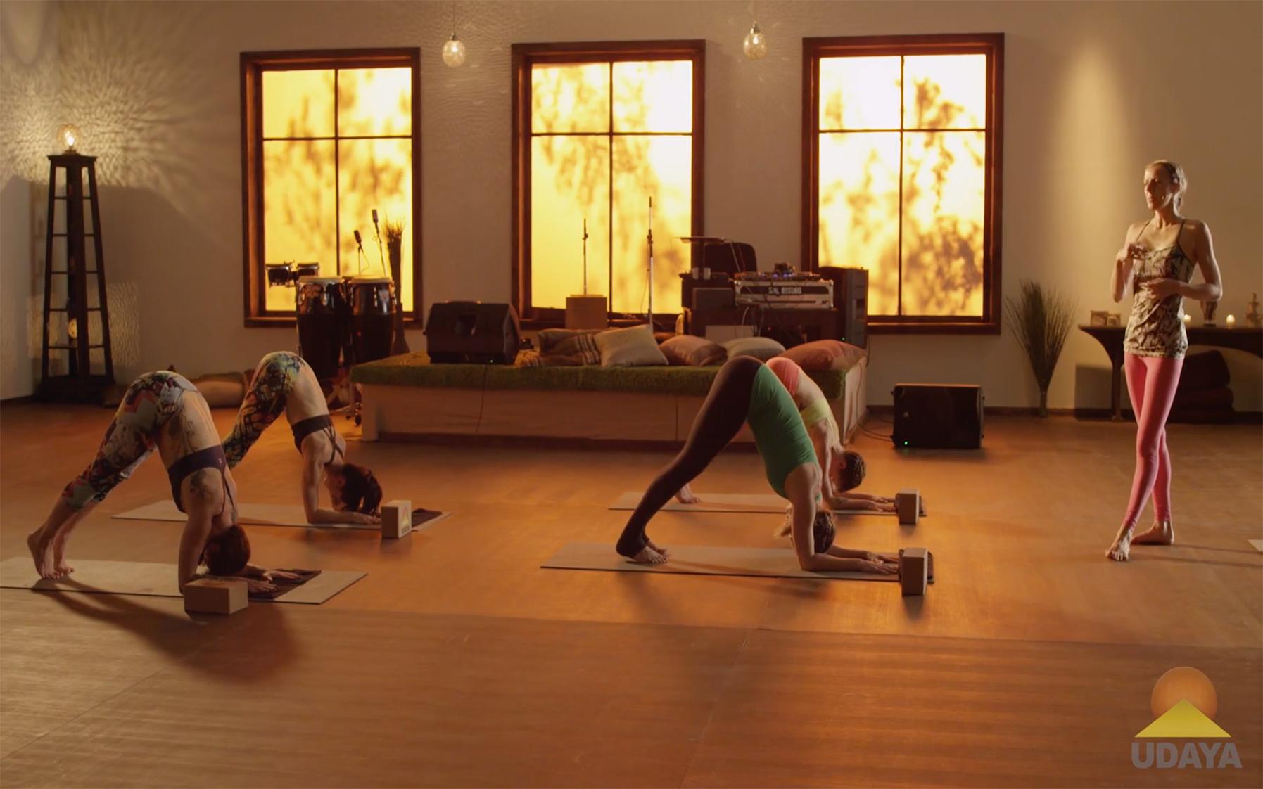 Yoga to Rekindle Creativity - Dolphin Pose