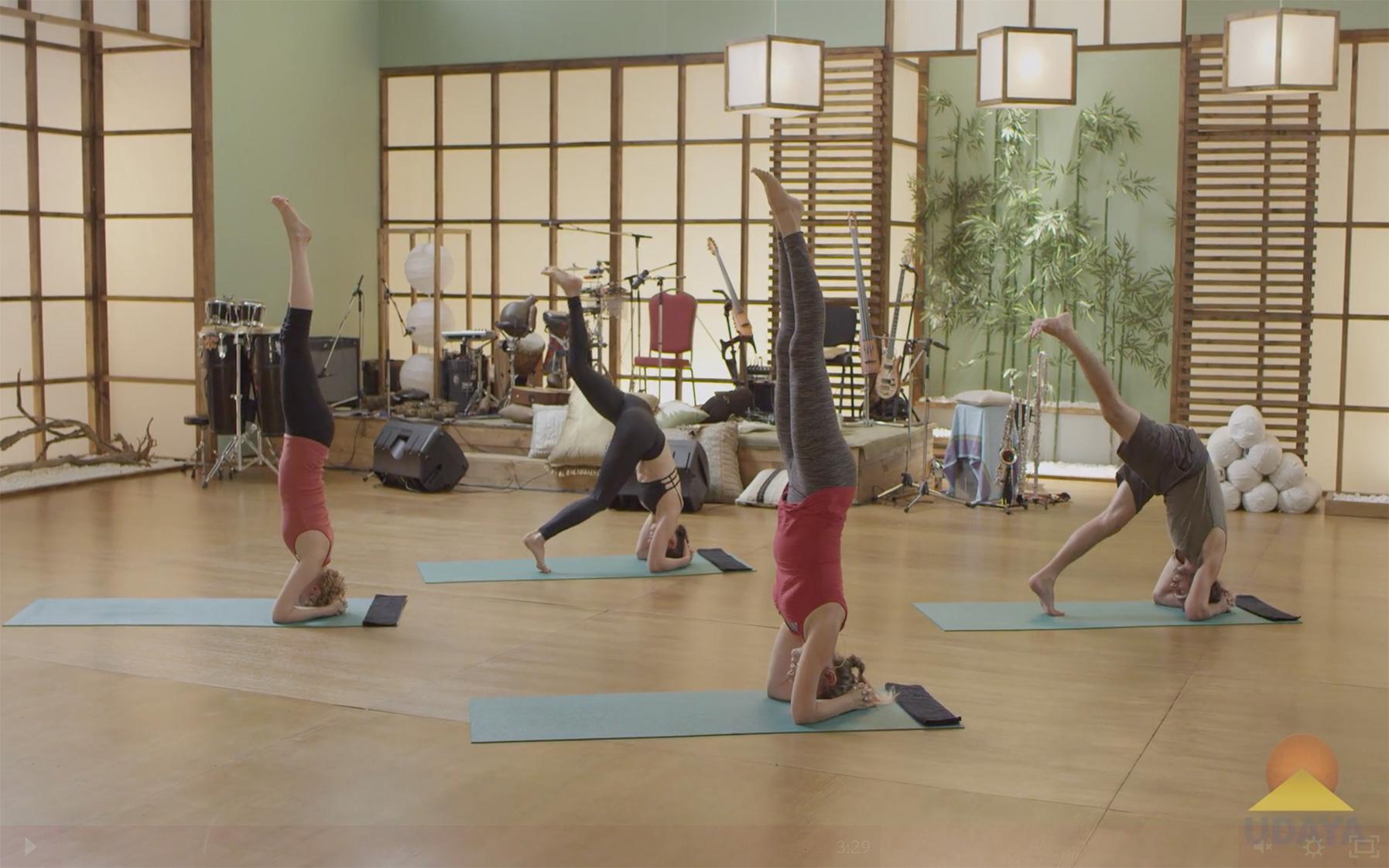 Yoga to Rekindle Creativity - Headstand
