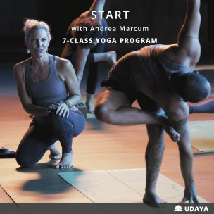 START yoga program with Andrea Marcum