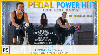 PEDAL Power HIIT Spin