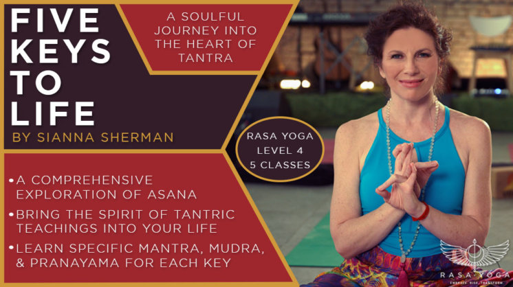 Five Keys to Life Sianna Sherman