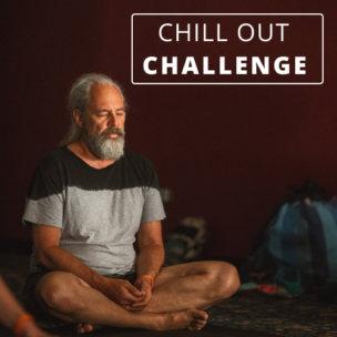 Older man with beard in meditation