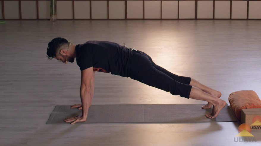 Learn Yogi Push-up & Plank
